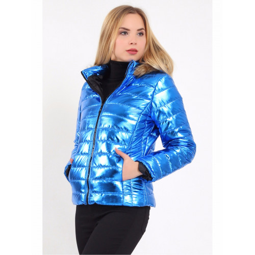 Metallic Short Inflatable Coats