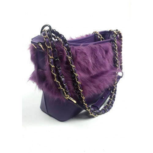 Purple Color Shoulder Bag
