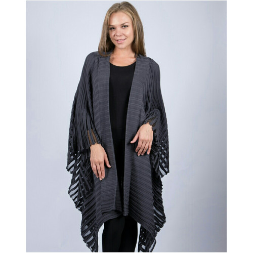 Smoked Color Authentic Poncho