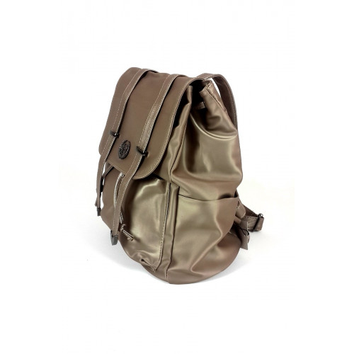 Satin Gold Backpack