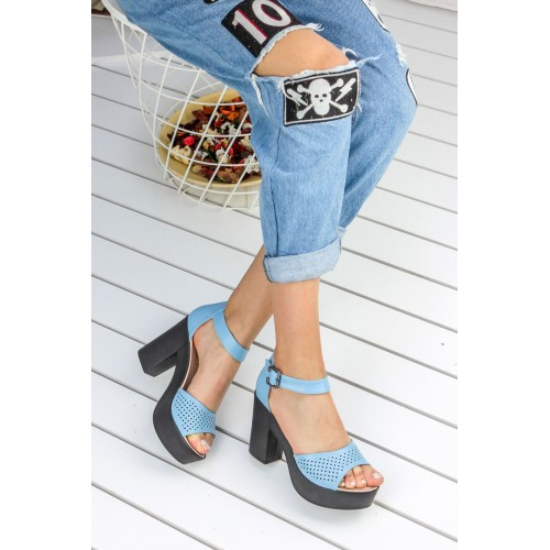 Baby Blue Casual Shoes