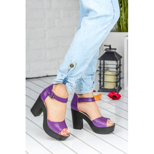 Purple Casual Shoes