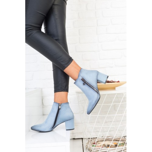 Baby Blue Boots