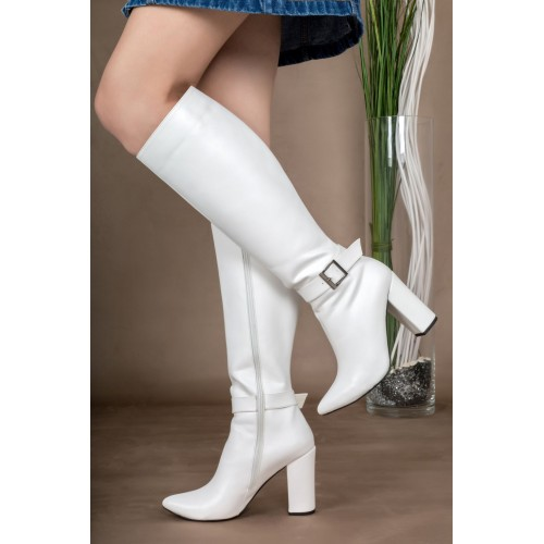 White High Boots Models and Prices