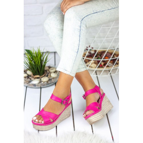 Fuchsia Wedges