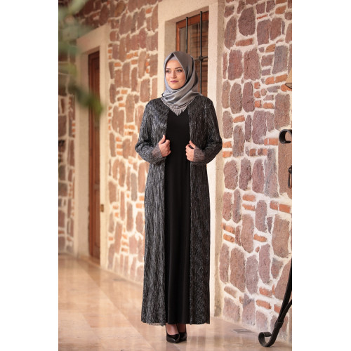 Black Hijab Dress