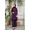 Arya Hijap Suit - Purple