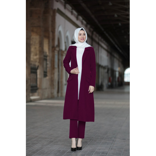 Plum Color Hijab