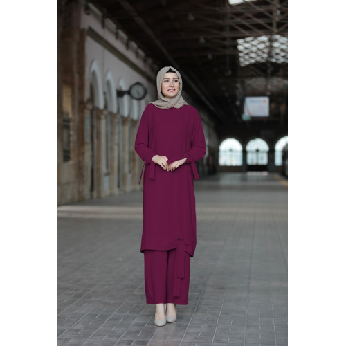Salkim Binary Suit - Plum Color