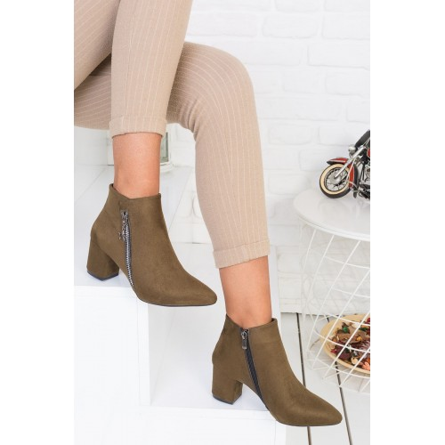 Anita Green Suede Boots