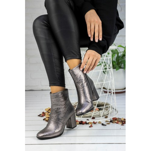 Caterina Silver Boots