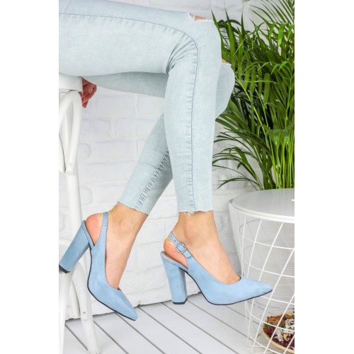 Dianna Baby Blue High Heels Shoes