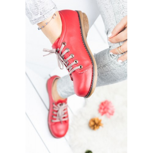 Buena Red Sport Shoes